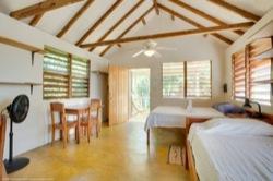 Garden Cabanas interior AC unit