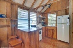 Garden Cabanas kitchenette